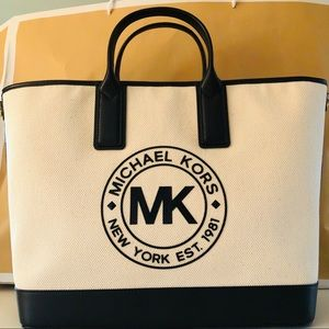 Michael Kors large tote bag with strap